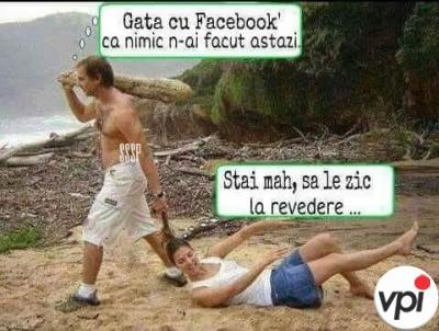 Gata cu Facebook!