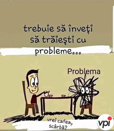 Învață să trăiești cu problemele