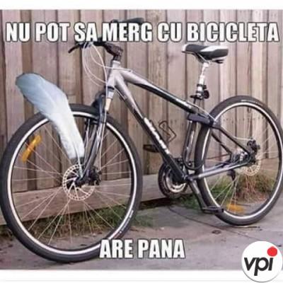 Pana la bicicleta