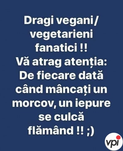 Pentru toti vegetarienii