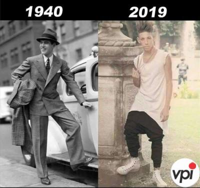 Bărbații din trecut și cei din prezent
