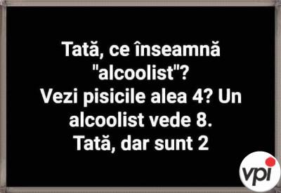 """Ce înseamnă """"alcoolist"""""""