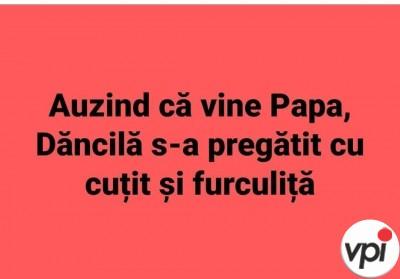 Pregătiri pentru Papă
