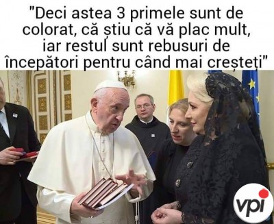 Cadou de la Papă