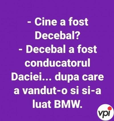 Cine a fost Decebal