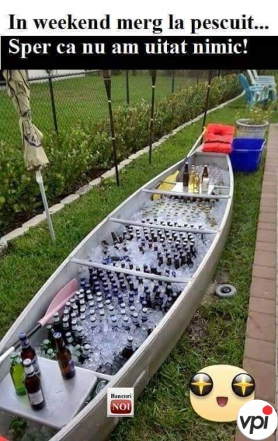 Când merg la pescuit