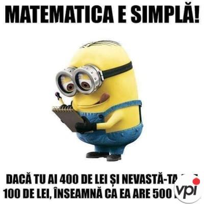 Matematica simplă
