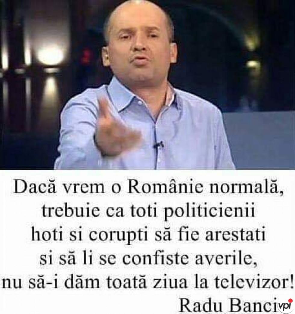 O Românie normală