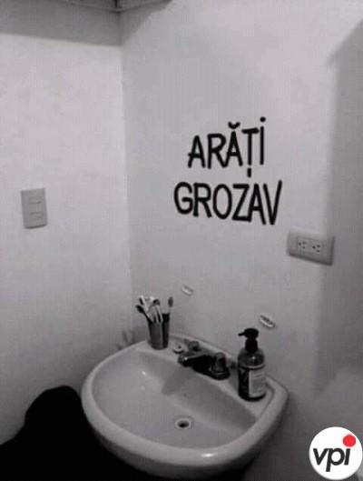 Oglinda mea din baie