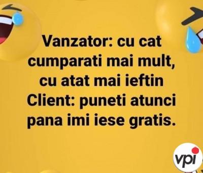 Vânzător și client