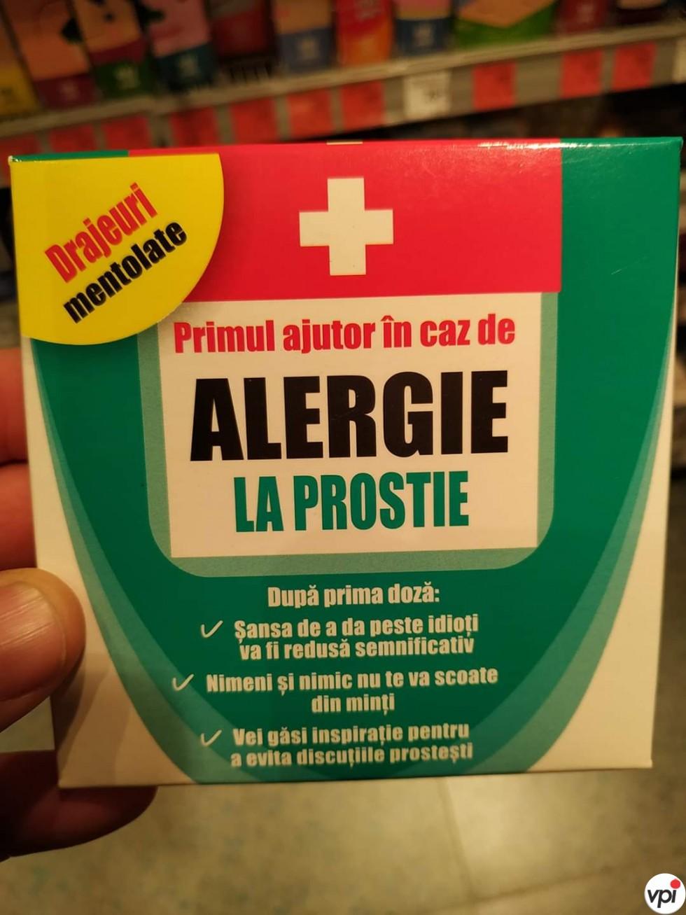Alergie la prostie