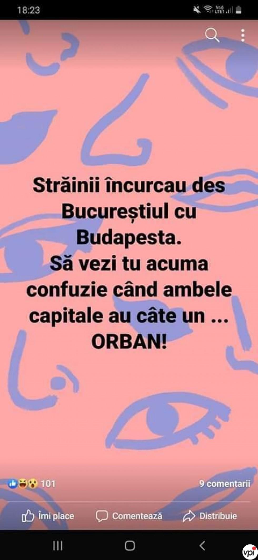 București vs Budapesta