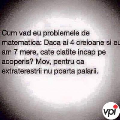 Cum înțeleg eu matematica