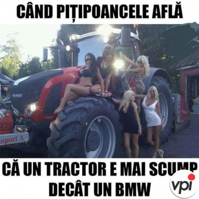 Tractor scump