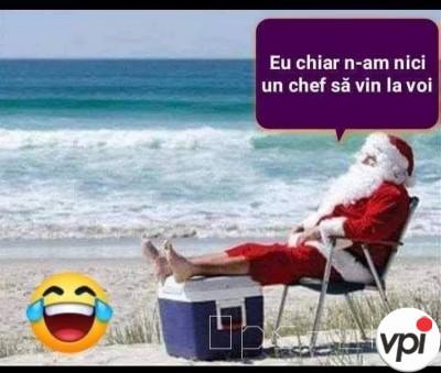 Când îl aștepți pe Moș Crăciun