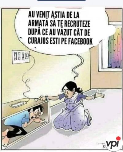Tupeu pe Facebook