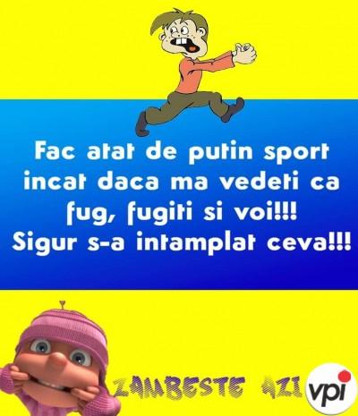 Nu-mi place sportul!