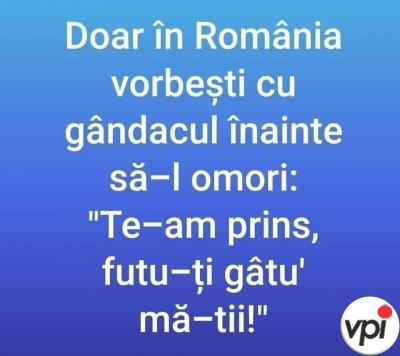 Doar în România