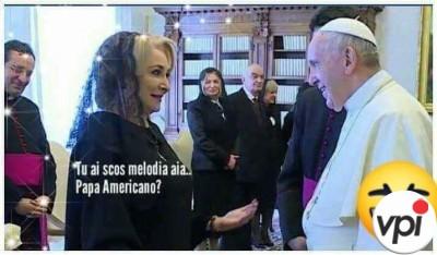 Discuție cu Papa