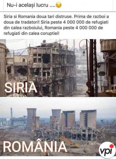România, distrusă