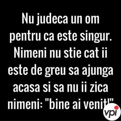 Nu judeca un om!