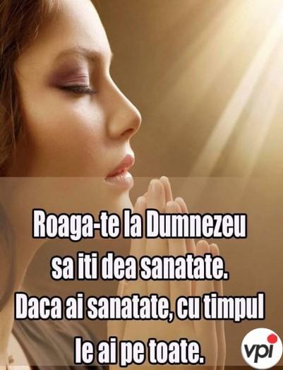 Roagă-te la Dumnezeu!