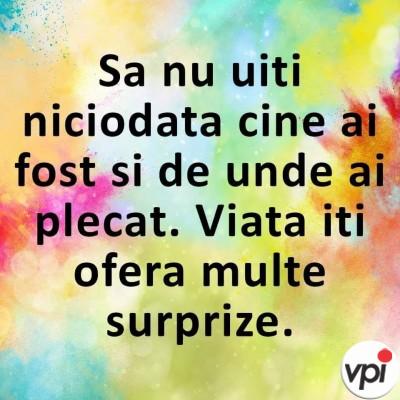 Viața e plină de surprize