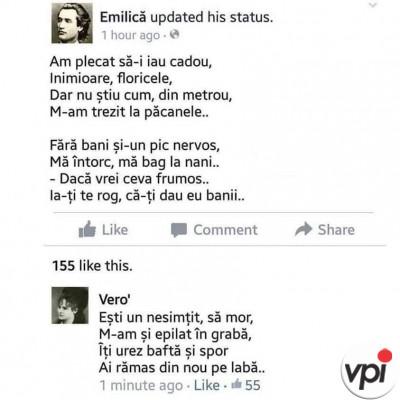 Statusuri pe Facebook