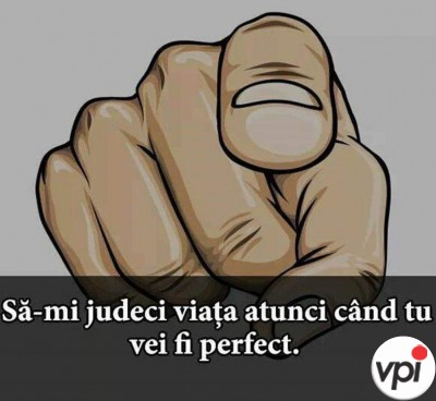 Nu mă judeca!