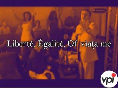 Libertate, Egalitate...