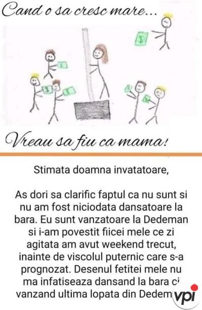 Vreau să fiu ca mama!