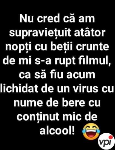 Coronavirus - virus cu nume de bere