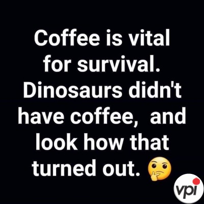 Cafeaua este vitală pentru a supraviețui