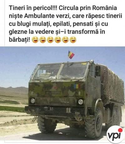 Pericol în România