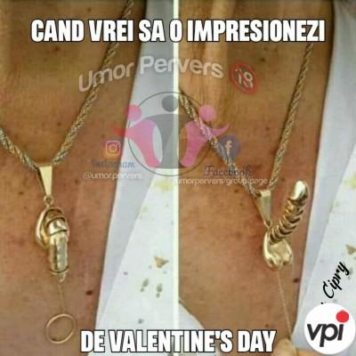 Cand vrei sa o impresionezi de Valentine's Day