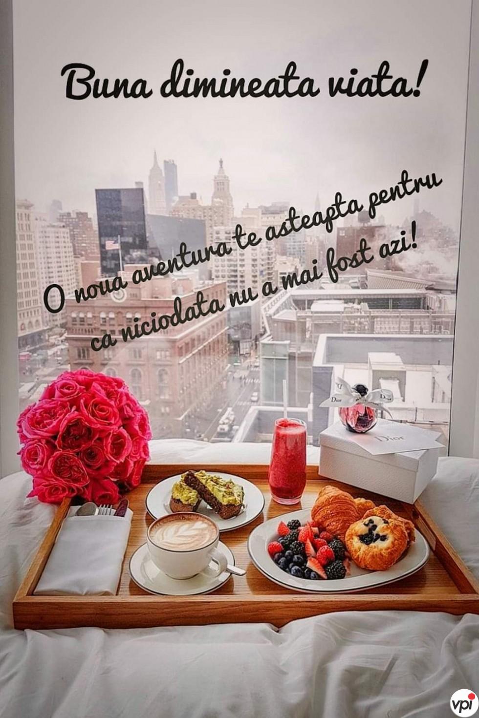 Bună dimineața viață!