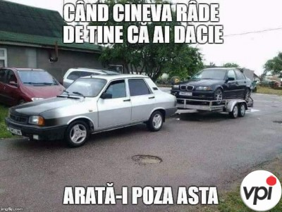 Când ești mândru de Dacia ta