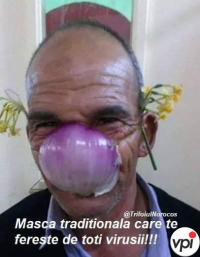 Masca anti coronavirus