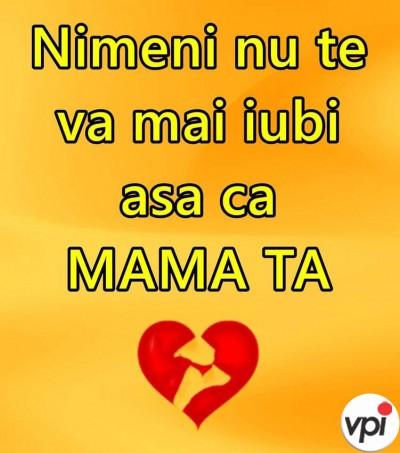 Cum te iubește mama