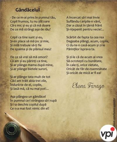 Gândăcelul- Elena Farago