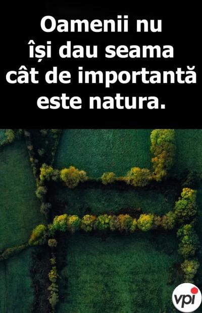 Cât de importantă este natura
