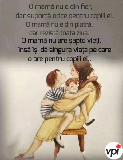 O mamă