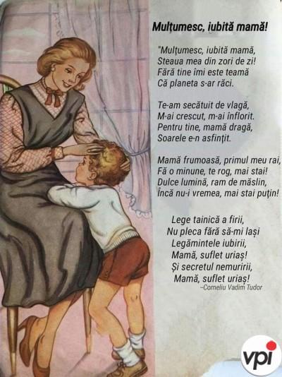 Mulțumesc, iubită mamă!