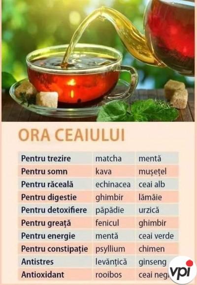 Cum să-ți bei ceaiul