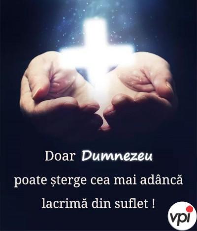 Doar Dumnezeu poate