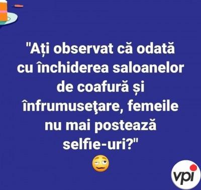 De ce nu mai postează femeile selfie-uri?