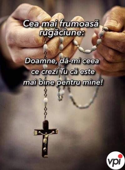 Cea mai frumoasă rugăciune
