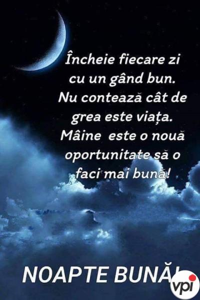 Noapte bună! Mâine e o nouă zi!