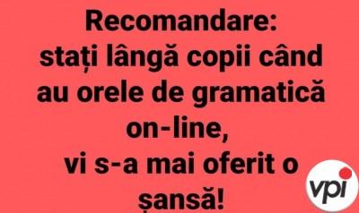 Orele de gramatică online