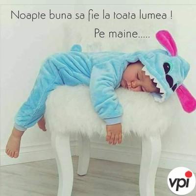 Noapte bună la toată lumea!